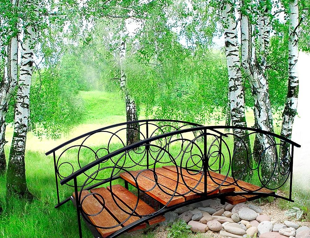 Декоративный мостик фото