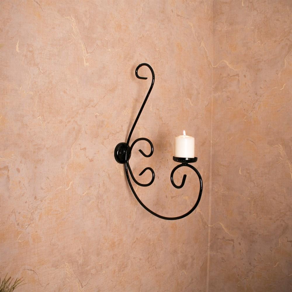 Подсвечник на стену - фото 17165