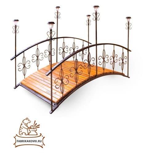 Декоративный мостик для дачи и загородного дома