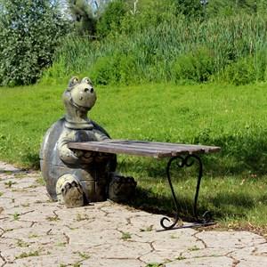 Садовая лавочка черепаха