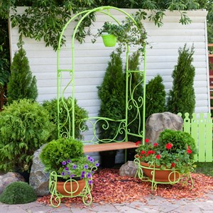Арка садовая