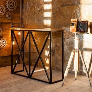 Стол барный лофт 66-100